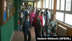 Iz jedne od škola u Srbiji
