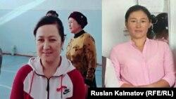 Погибшие Айчурок Исманова и Гулазим Сармырзаева (справа).
