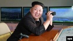 Cеверокорейский лидер Ким Чен Ын.