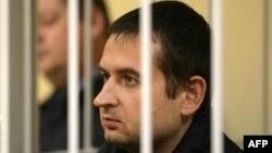 Руслан Якушев на слуханні в суді в Мурманську, 24 жовтня 2013 року