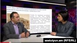 Պատգամավոր Թևան Պողոսյանը «Ազատություն TV»-ի տաղավարում, 29-ը ապրիլի, 2015թ․