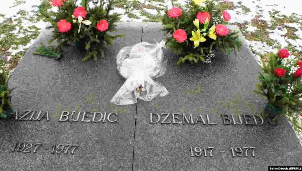 Grob Džemala Bijedića u Sarajevu
