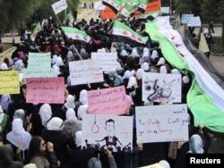 Сириядагы демонстрациялар, 21-ноябрь, 2011-жыл