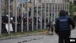 Protestat në Shkup pas vrasjes së pesëfishtë...