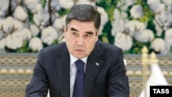 Where's Berdy? Turkmen President Gurbanguly Berdymukhammedov has not been seen in public since July 5. (file photo)