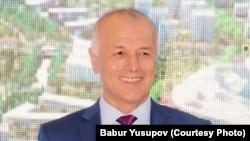 Кадыр Юсупов в бытность высокопоставленным сотрудником МИД Узбекистана.