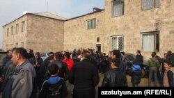 Armenia- Rally in the village of Jrarbi, 20 Nov, 2017