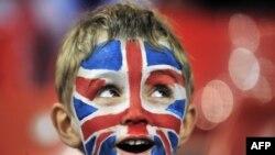 Një shikues i Lojërave Olimpike Londra 2012