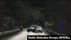 Дебар- блокадата на Бошков мост поради ситуацијата со коронавирусот во градот, 26.03.2020