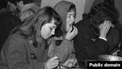 Жаночая калёнія ў Гомелі. Здымак Віктара Стралкоўскага