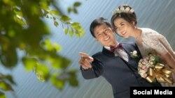 Уланбек Эгизбаев и его супруга Сапаргуль Абдинабиева.