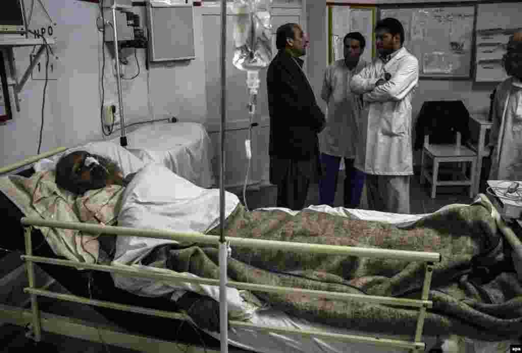 Больница в долине Панджшер куда привозили раненых