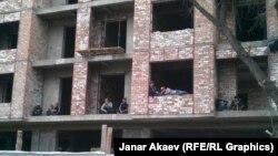 В Бишкеке наблюдается строительный бум. Иллюстративное фото.