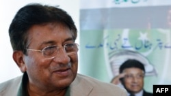 Pakistan's former military ruler Pervez Musharraf (file photo)