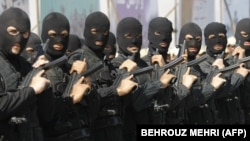 Iranian anti-narcotics police special forces. File photo