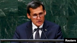 Türkmenistanyň daşary işler ministri Raşid Meredow.