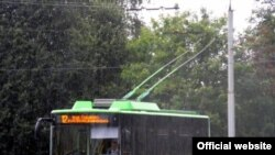 Новий тролейбус «Богдан»