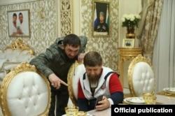 Магомед Даудов и Рамзан Кадыров