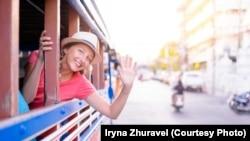 Ирина Журавель – блогер, тревел-хакер, посетила 29 стран