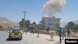 Jedan od prethodnih napada na grad Pul-e Khumri, maj 2019.
