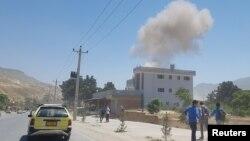 یک انفجار در شهر پلخمری