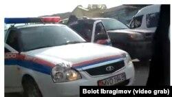 Скриншот с видео инцидента в Ноокате.
