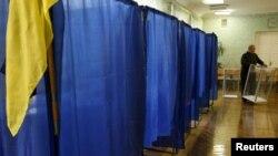 Киев. На избирательном участке. 27 октября 2012 г