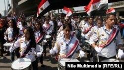 مشهد من احتفال المصريين بعيد 6 اكتوبر (الارشيف)