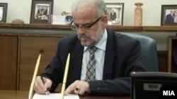 Претседателот на Собранието Талат Џафери го потпиша решението за распишување на локалните избори