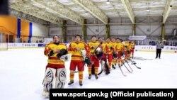 Кыргызстандын хоккей боюнча улуттук курама командасы Кышкы Азия оюндарында. 22-февраль, 2017-ж. Саппоро. Жапония.