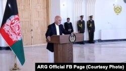 محمد اشرف غنی رئیس جمهور افغانستان، ۱۹ اگست ۲۰۱۹