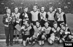 Sovet hakimiyyəti dövründə Ukrayna futbol komandası.