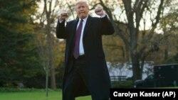 АҚш президенті Дональд Трамп. Вашингтон, 20 қараша 2018 жыл.