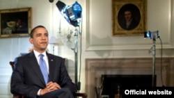Президент США Барак Обама любить спілкуватися через відео