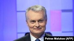Lithuanian President-elect Gitanas Nauseda