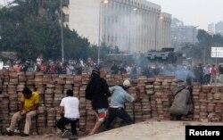 Каир. Улицы вокруг мечети Рабаа эль-Адауиа