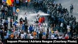 Protestele de la 10 august, menționate în detaliu în Raportul Departamentului de stat al Statelor Unite privind respectarea drepturilor omului în România