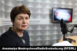 Голова громадської організації «Родина» Лариса Самсонова