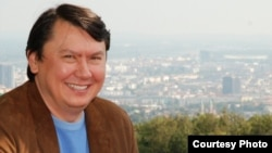 Рахат Алиев в эмиграции. Вена, 2008 год.