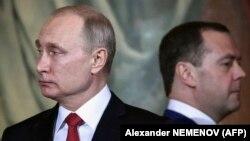 Владимир Путин и Дмитрий Медведев бяха неразделни в последните години