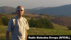 Aleksandar Sarić na Gledićkim planinama