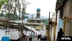Џамија во Таџикистан