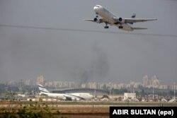 «Лётнішча аэрапорту Бен-Гурыён»