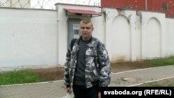 Аляксандар Палякоў па вызваленьні з Акрэсьціна