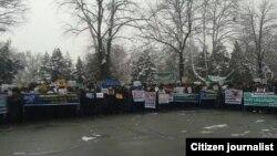Protesta në Jalal-Abad, Kirgizi