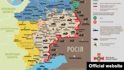 Ситуація в зоні бойових дій на Донбасі, 31 липня 2015 року