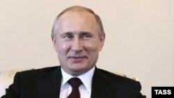 Ресей президенті Владимир Путин. Санкт-Петербург, 16 наурыз 2015 жыл.