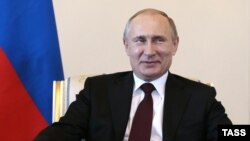 Россия Президенти Владимир Путин. Санкт Петербург 2015 йил, 16 март.
