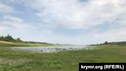 Белогорское водохранилище, 18 июля 2020