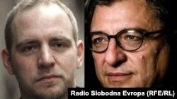 Florian Bieber (levo) i Ljubomir Frčkovski (desno)